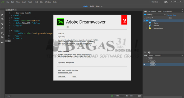 Adobe Dreamweaver 2020 Full Version