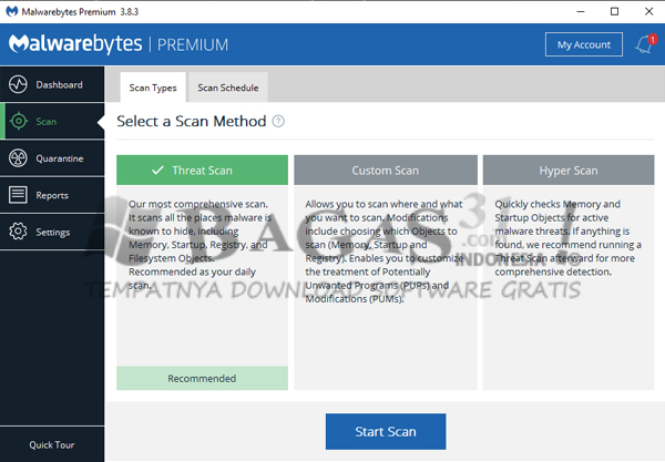 Malwarebytes Anti-Malware Premium 3.8.3.2965 Full Version