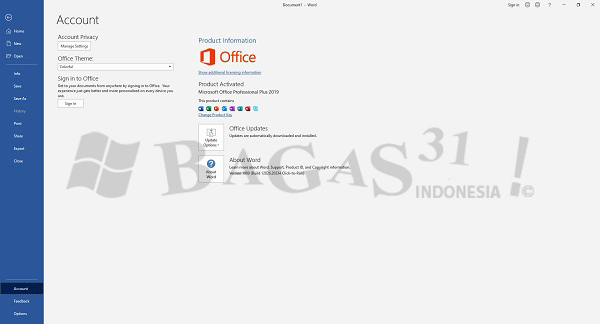Microsoft Office 2019 Pro Plus 1909 Build 12026.20334