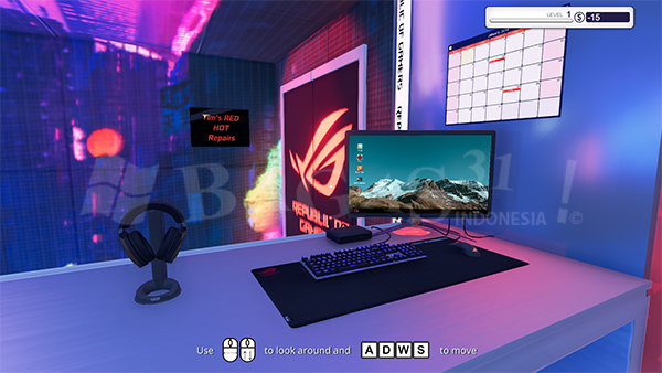 PC Building Simulator Republic of Gamers Workshop Full Version
