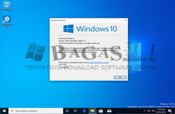 Windows 10 AIO 20H1 Oktober 2019