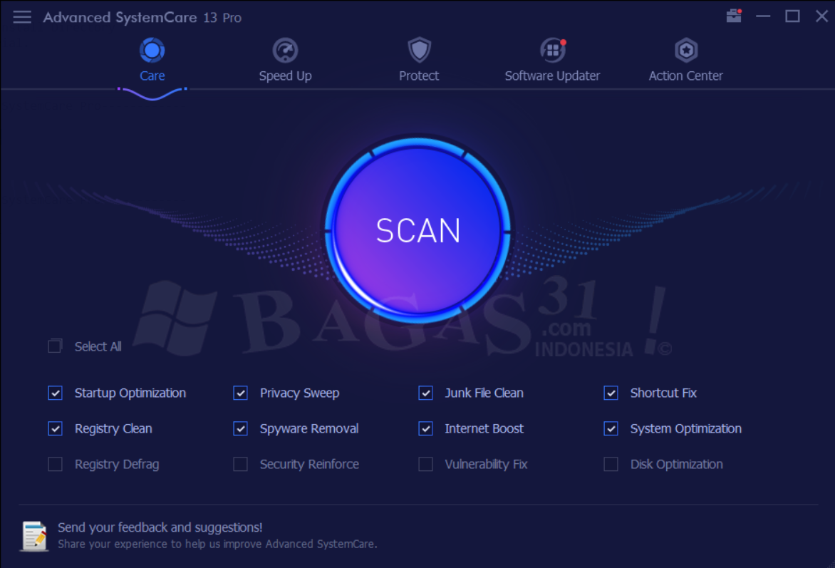 Advanced SystemCare Pro 13.0.2 Full Version