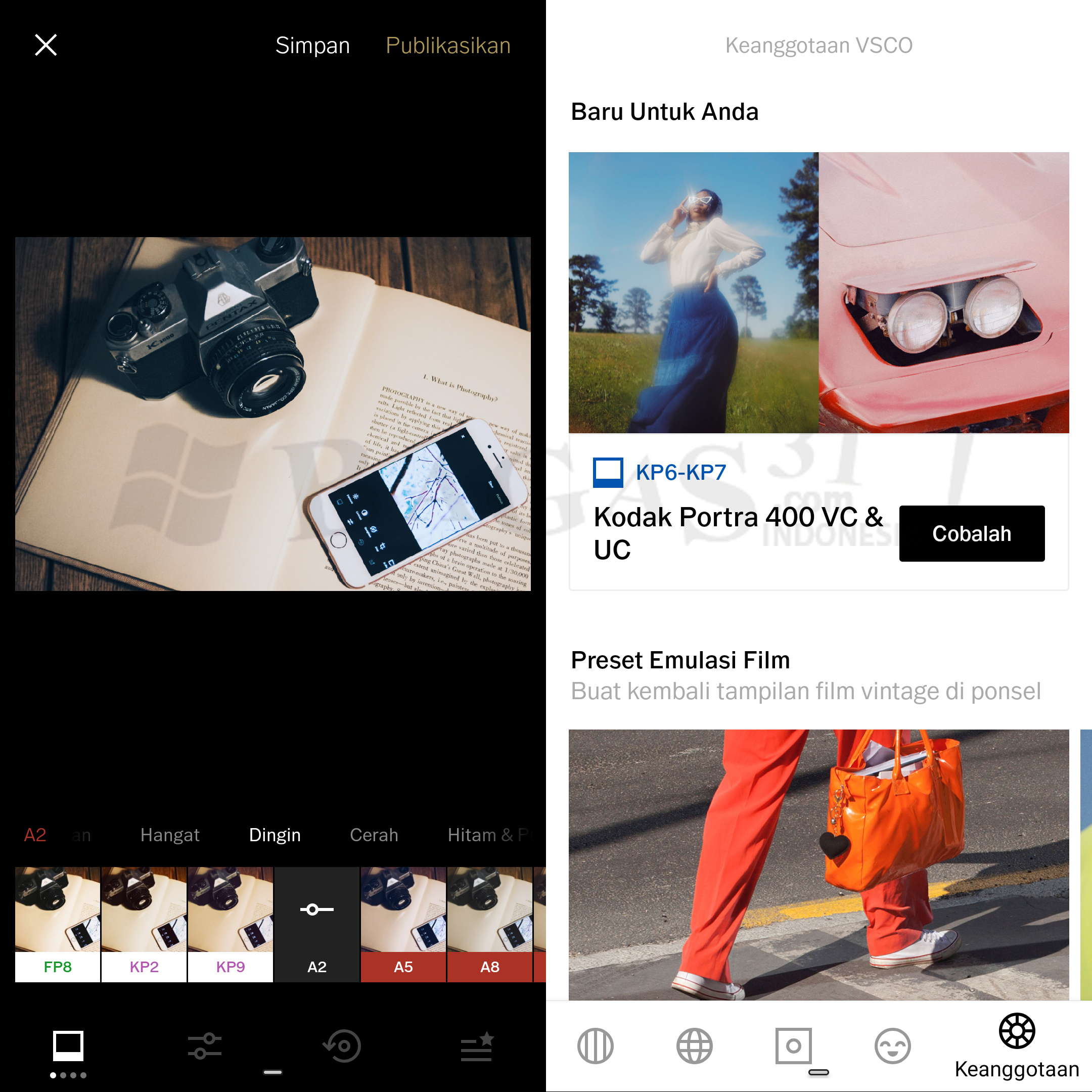 VSCO Full Pack 134 Apk