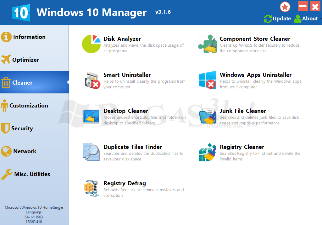 Windows 10 Manager 3.1.6 Full Version