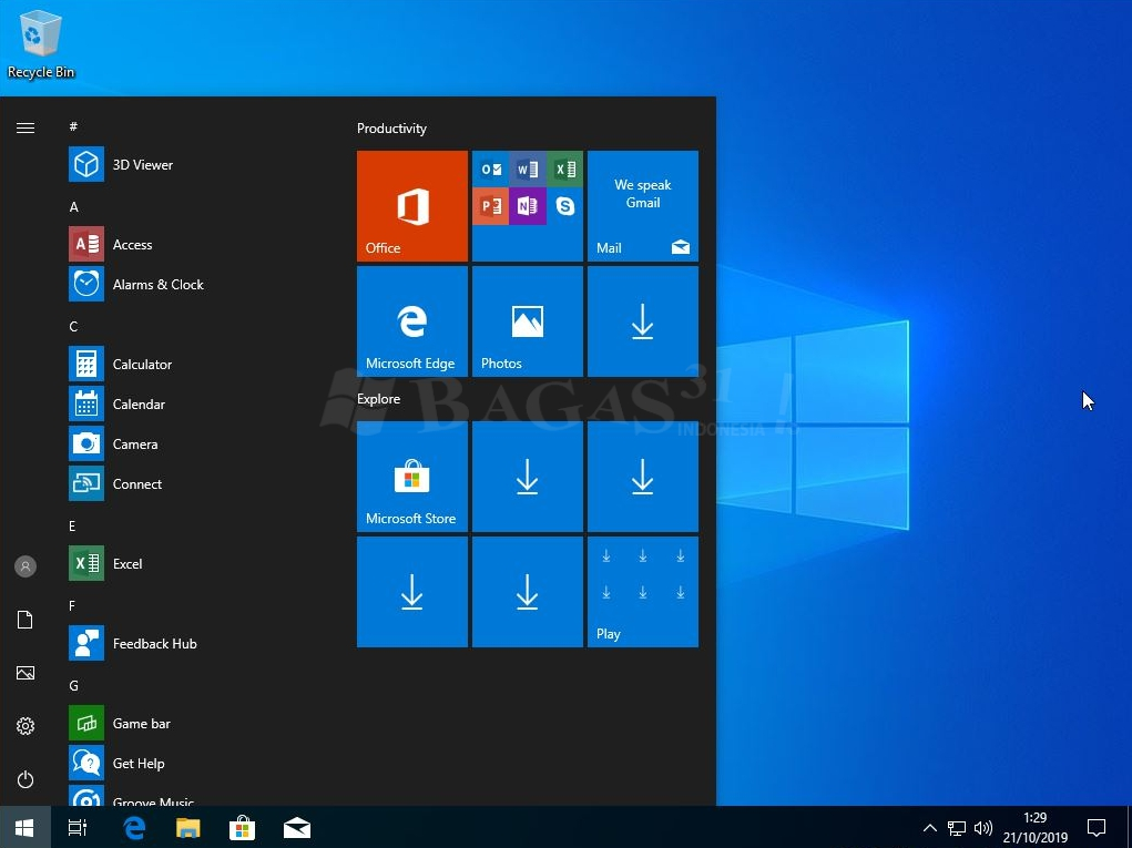 Windows 10 Pro v1903 Include Office Update Oktober 2019 (x64) 2
