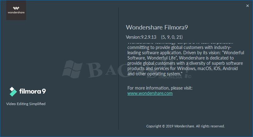 Wondershare Filmora 9.2.9.13 Full Version 1
