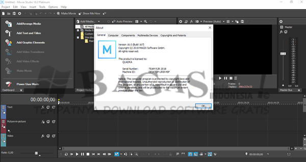 MAGIX VEGAS Movie Studio Platinum 16.0.0.167 Full Version