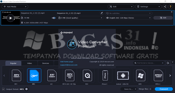 Movavi Video Converter 20.0.1 Full Version