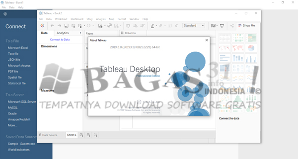 Tableau Desktop 2019.3.0 Professional Edition Full Version