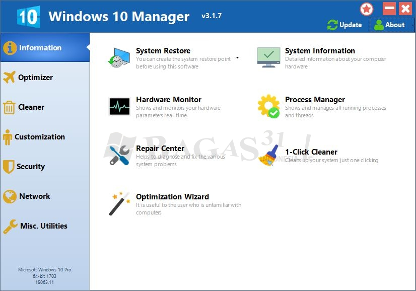 Windows 10 Manager 3.1.7 Full Version 3