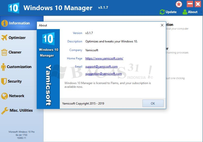 Windows 10 Manager 3.1.7 Full Version 2