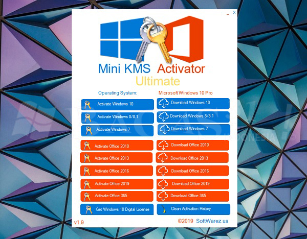 Mini KMS Activator Ultimate 1.9