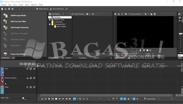 MAGIX VEGAS Movie Studio Platinum 16.0.0.175 Full Version