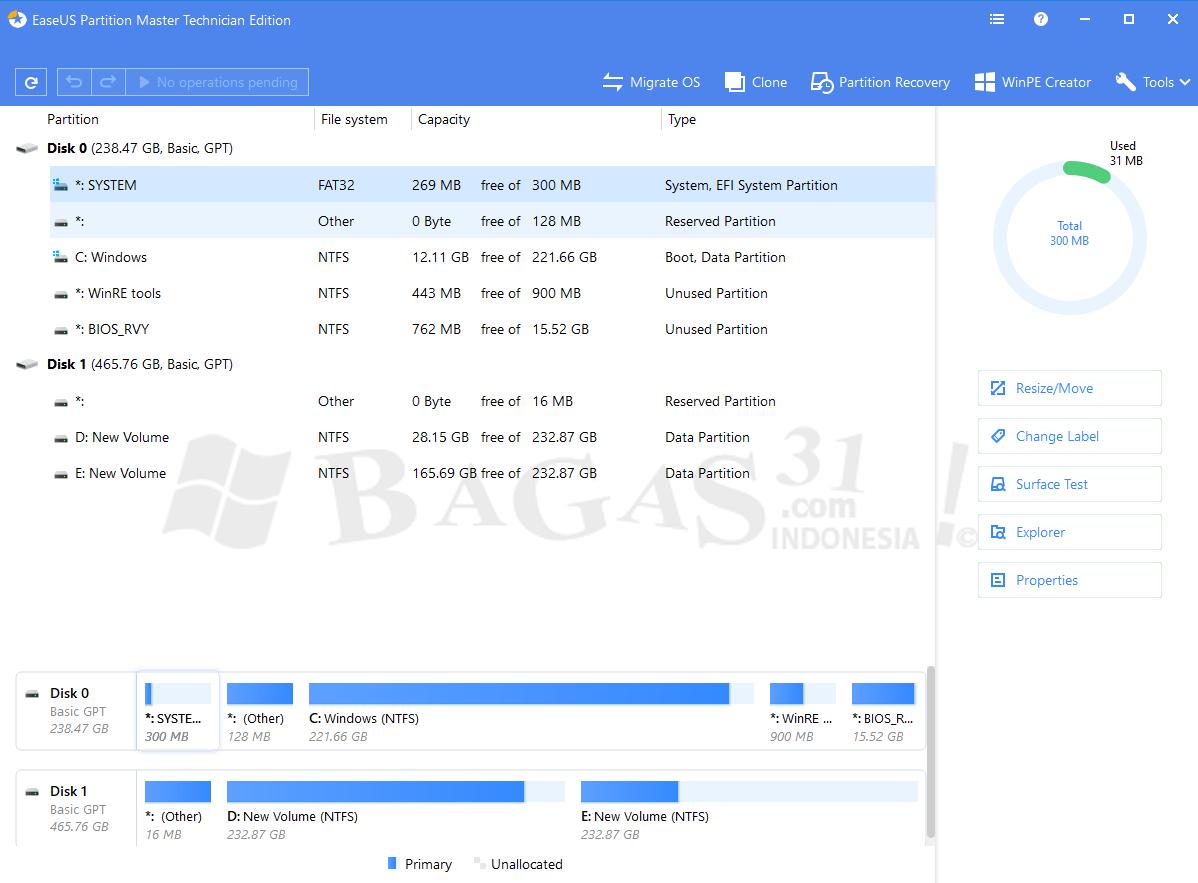 EaseUS Partition Master 13.8 Technician Edition Full Version 1