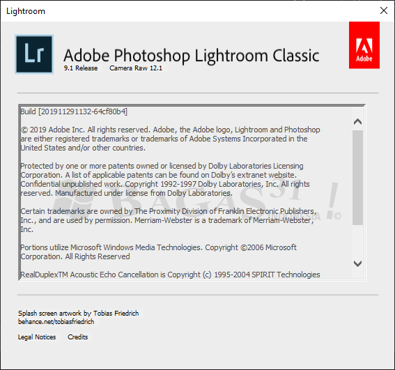 Adobe Photoshop Lightroom Classic CC 2020 9.1.0.10 Full Version 3