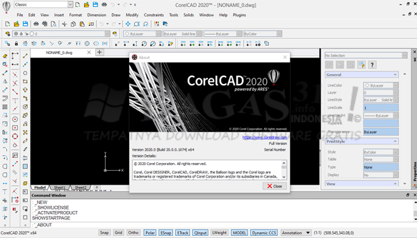 CorelCAD 2020 Build 20.0.0.1074