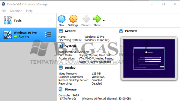VirtualBox 6.1.2 Build 135662