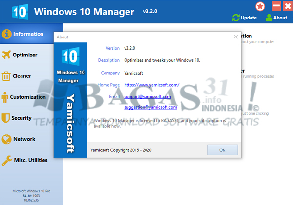 Windows 10 Manager 3.2.0 Full Version