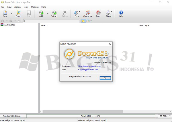 PowerISO 7.6 Full Version