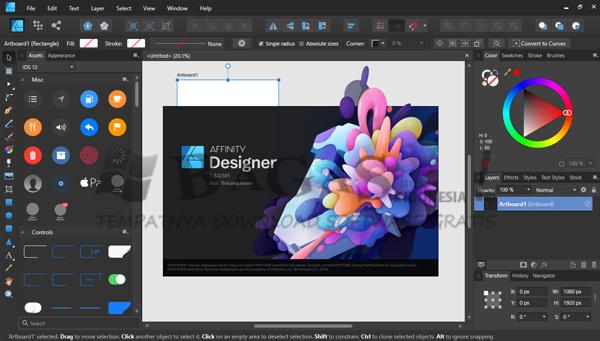 Serif Affinity Designer 1.8.0.585