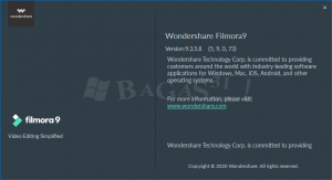 Wondershare Filmora 9.3.5.8 Full Version 1