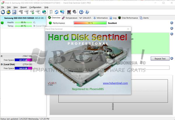 Hard Disk Sentinel Pro 5.60.1