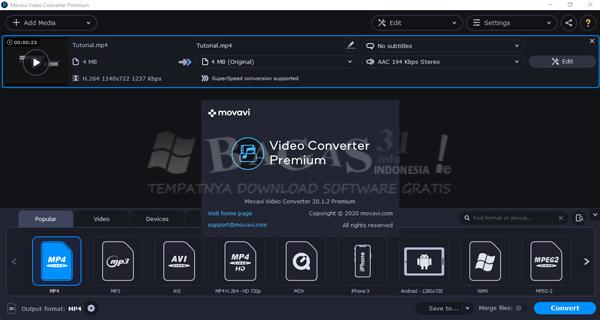 Movavi Video Converter Premium 20.1.2