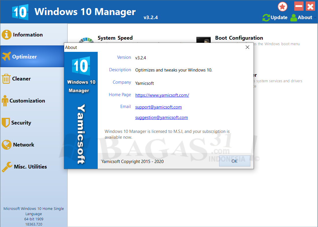 Windows 10 Manager 3.2.4 Full Version