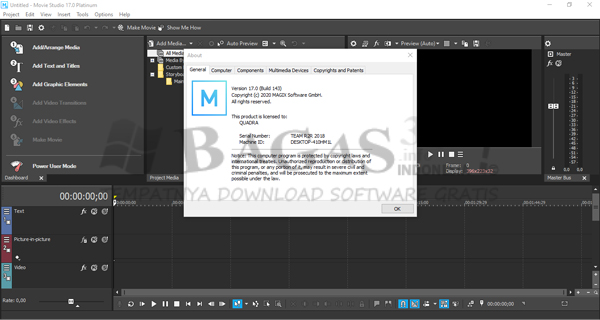 MAGIX VEGAS Movie Studio Platinum 17.0.0.143