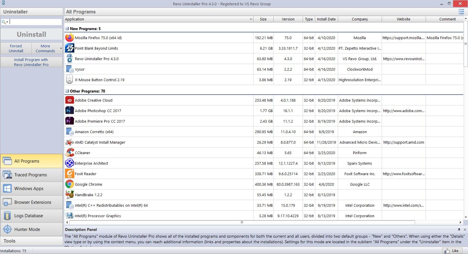 Revo Uninstaller Pro 4.3.0 Full Version