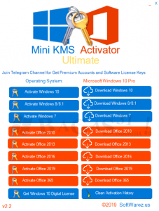 Mini KMS Activator Ultimate 2.2 2