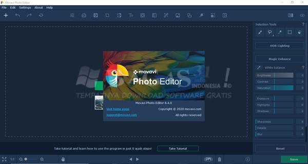 Movavi Photo Editor 6.4