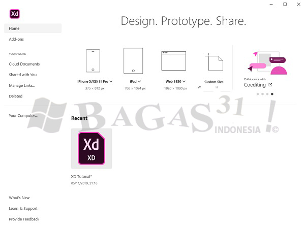 Adobe XD CC 2020 v29.3.32 Full Version