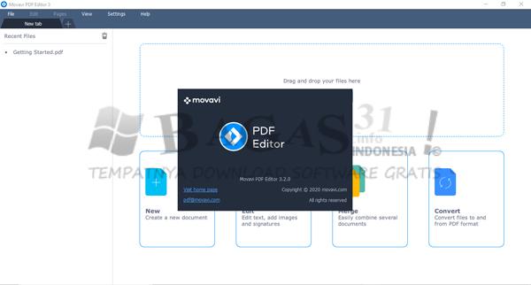 Movavi PDF Editor 3.2.0