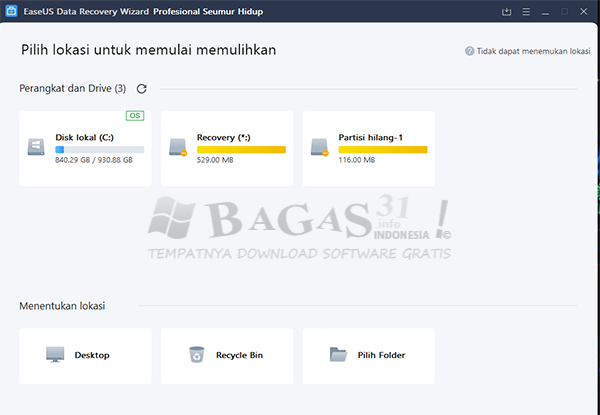 EaseUS Data Recovery Wizard 13.5 Full Version