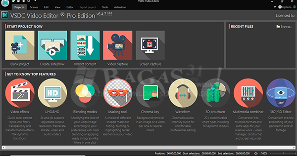 VSDC Video Editor Pro 6.4.7.155 Full Version