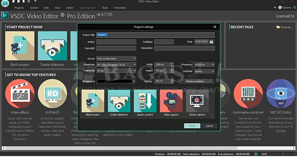 VSDC Video Editor Pro 6.4.7.155 Full Version 1