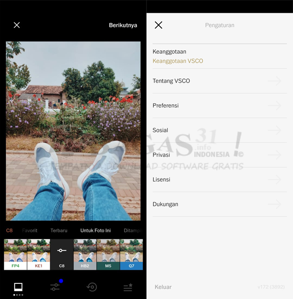 VSCO Full Pack 172 APK
