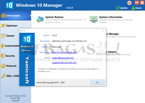 Windows 10 Manager 3.3.0
