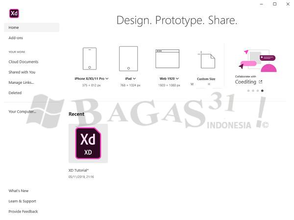 Adobe XD CC 2020 v30.2.12 Full Version