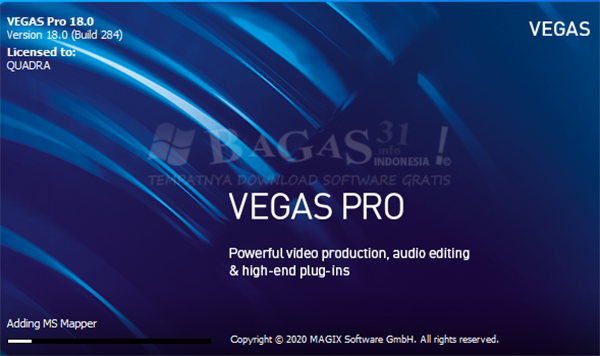 MAGIX Vegas Pro18.0 Build 284 Full Version