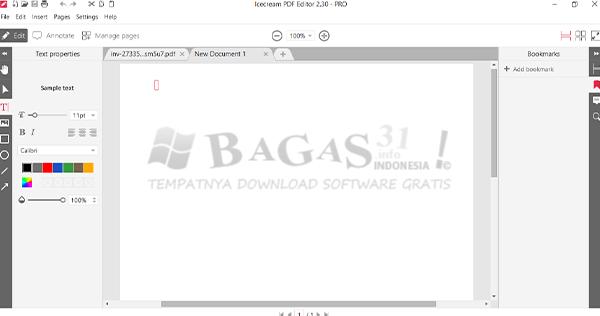Icecream PDF Editor Pro v2.30 Full Version 2