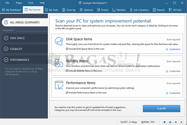 AusLogics BoostSpeed 11.5.0.2 Full Version