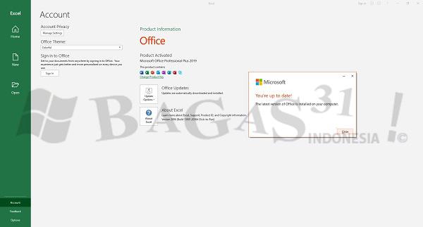 Microsoft Office 2019 Pro Plus v2009 Build 13219.20004 Agustus 2020