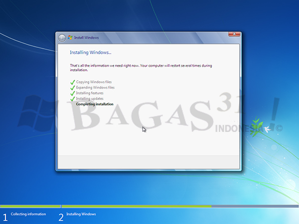 Windows 7 Ultimate SP1 Agustus 2020