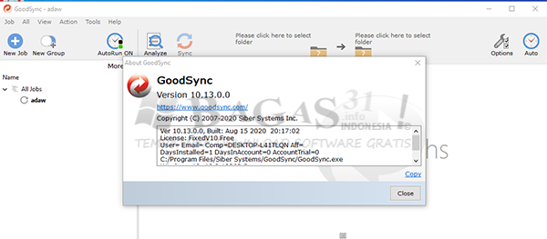 Goodsync Enterprise 10.13.0.0 Full Version