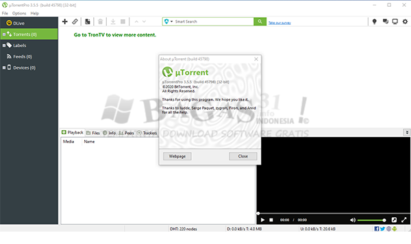 uTorrent Pro 3.5.5 Build 45798 Full Version