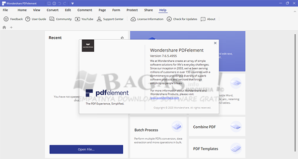 Wondershare PDFelement Pro 7.6.5.4955 Full Version