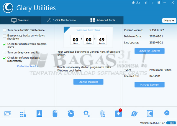 Glary Utilities Pro 5.151