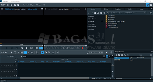 MAGIX Video Pro X12 v18.0.1.85 Full Version